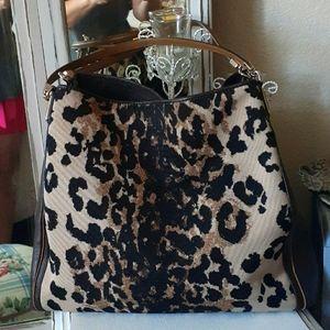 Coach Maggie Madison Ocelot Print Shoulder bag